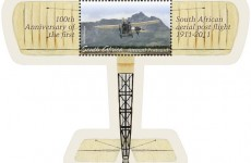1st Aerial Post stamp