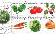 Green Earth Healthy Garden - South African Post Office stamps