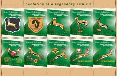 7 Rugby stamp sheet