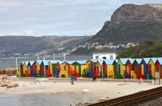 Kalk Bay changing booths