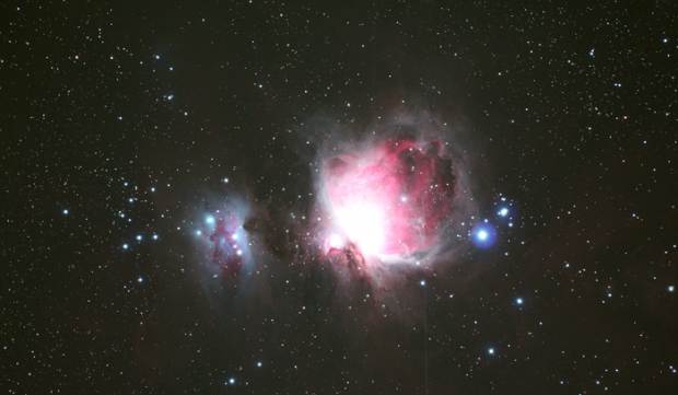 Canon 60Da astrophotography of Orion nebula